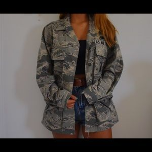 Authentic U.S. Air Force Army Jacket